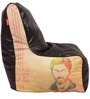 Chak De Theme Bean Bag Chair Cover in Multi Colour by Orka