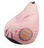 Band Baaja Baaraat Theme Bean Bag Cover in Multi Colour by Orka