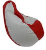 Classic Style Bean Bag Cover in Red White Colour by Orka