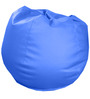 Classic Style Bean Bag (with Beans) in Royal Blue Colour by Sattva