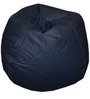 Classic Style Bean Bag Cover in Navy Blue Colour by Sattva