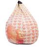 Dil Toh Pagal Hai Theme Filled Bean Bag in Multi Colour by Orka