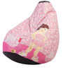 Hum Tum Glam Theme Filled Bean Bag in Multi Colour by Orka