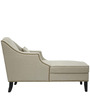 Classic Two Seater Chaise with Montogomery Style Arms in Grey Color by Afydecor