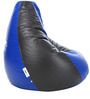 Classic XL Bean Bag Cover without Beans in Blue & Black Colour by Can