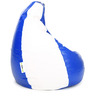 Classic XL Bean Bag Cover without Beans in Blue & White Colour by Can