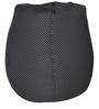Classic Bean Bag with Beans in Black Colour with White Polka Dots by Sattva