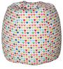 Classic  Bean Bag with Beans with Little Hearts Design by Sattva
