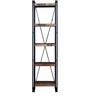 Odin Display Unit in Light Brown Finish by Bohemiana