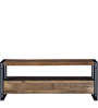Odin Entertainment Unit in Light Brown Finish by Bohemiana