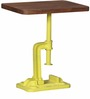 Cowal Stool cum End table in Natural Finish by Bohemiana