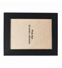 Clixicle Black Synthetic Wood Single Photo Frame