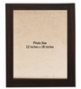 Clixicle Brown Synthetic Wood Collage Photo Frame-Set of 3
