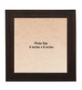 Clixicle Brown Synthetic Wood Collage Photo Frame-Set of 9