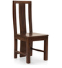 Clovis-Capra Six Seater Dining Set in Provincial Teak Finish by The ArmChair