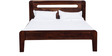 Bonduel King Bed in Provincial Teak Finish by Woodsworth