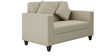 Cooper Two Seater Sofa in Beige Colour by ARRA