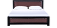 Coram Queen Size Bed in Espresso Walnut Finish by Woodsworth
