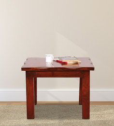 Coffee Table In Natural Brown Wood Polish By BIC