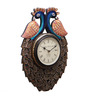 Cocovey Multicolor Wood & Metal 12 x 18 Inch Ethnic Wall Clock