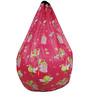 Colour Fairies Digital Printed Bean Bag Cover in Multicolour by Orka