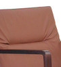 Comfort Arm Chair in Brown Colour by FurnitureTech