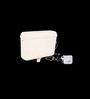 Commander White PVC Cistern Flush Tank with Plate