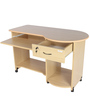 Companion Computer Table in Beverian Beech Finish by Godrej Interio