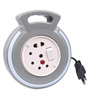 Cona Smyle Grey With Blue Ring 4 Meters 2-Pin Extension Cord