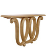 Console Table in Golden Colour by The Yellow Door