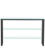 Console Table Three Tier Glass by Asian Arts