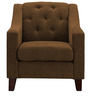 Contemporary Club Chair in Brown Color by Afydecor