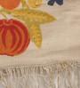 Contrast Living Multicolour Cotton 114 x 72 Inch Punja Dhurrie
