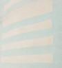 Contrast Living Multicolour Cotton 72 x 48 Inch Geometric Stripe Shuttle Area Rug