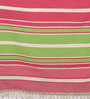 Contrast Living Multicolour Jute 36 x 60 Inch Printed Dhurrie