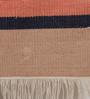 Contrast Living Multicolour Jute 60 x 36 Inch Suzani Area Rug