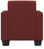 Cooper One Seater Sofa in Cherry Colour by ARRA