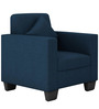 Cooper One Seater Sofa in Royal Blue Colour by ARRA