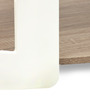 Cora High Gloss Center Table by HomeTown