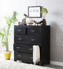 Edmonds Chest of Drawers in Espresso Walnut Finish by Woodsworth
