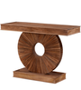 Cordoba Console Table in Provincial Teak Finish by Woodsworth