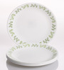 Corelle India Impressions Neo Leaf Vitrelle Glass Plate - Set of 6