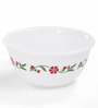 Corelle Livingware Spring Pink, White and Red Glass 21-piece Dinner Set