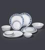 Corelle Livingware True Blue Vitrelle Glass Dinner Set - Set of 21