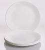 Corelle Livingware Winter Frost White Vitrelle Glass Small Plate - Set of 6