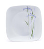Corelle Square Round Shadow Iris 21 Pcs Square Dinner Set