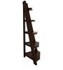 Corner Book cum Display Shelf in Brown Colour by Maruti Furniture