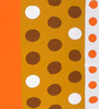 Cortina Premium Polka Dots Multicolour 100% Cotton Double Bed Sheet (with Pillow Covers) -