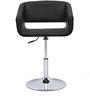 Cosmos Bar Chair in Black  colour by @home