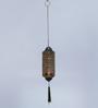 Courtyard Gold Iron Amba Antique Hanging Tea Light Holder